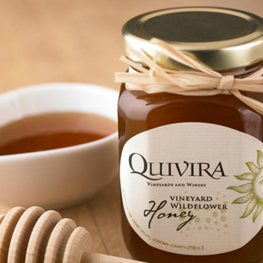 Quivira Vineyard Wildflower Honey