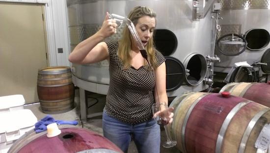barrel tasting zichichi family vineyards